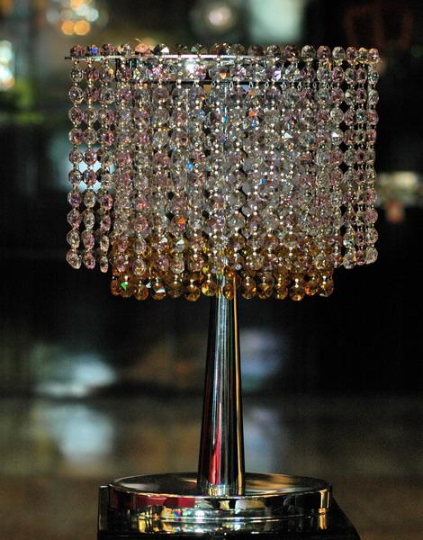 โคมไฟตั้งโต๊ะ Crystal WL No.14078-300CH-C