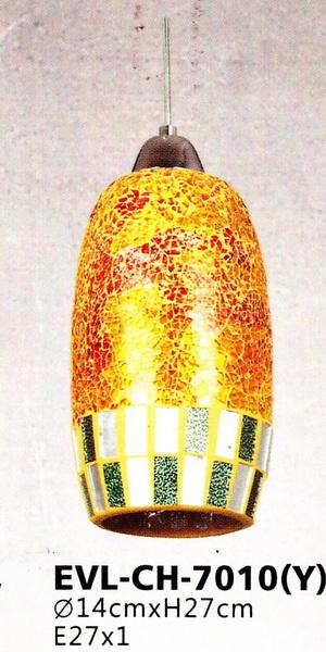 โคมไฟห้อยเดี่ยว EVL No.CH-7010(Y)