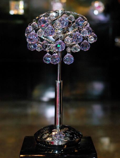 โคมไฟตั้งโต๊ะ Crystal No.KT-2243-3