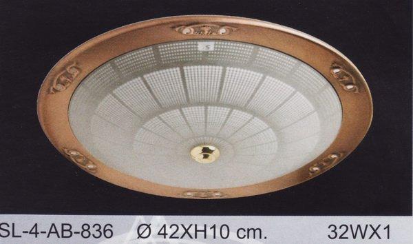 โคมไฟ 32W No.SL-4-AB-836